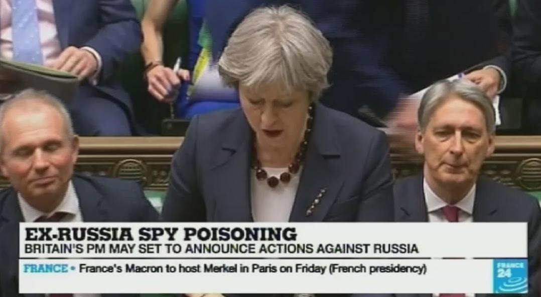 Лондон ги прекинува билатералните односи со Москва  протерува 23 руски дипломати