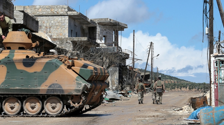 Центарот на сирискиот град Африн целосно под контрола на Турските воени сили