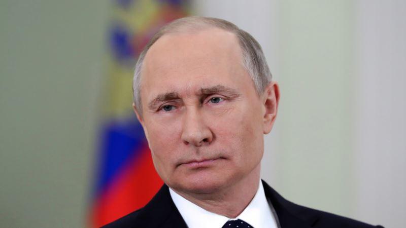 Владимир Путин пред четвртиот претседателски мандат