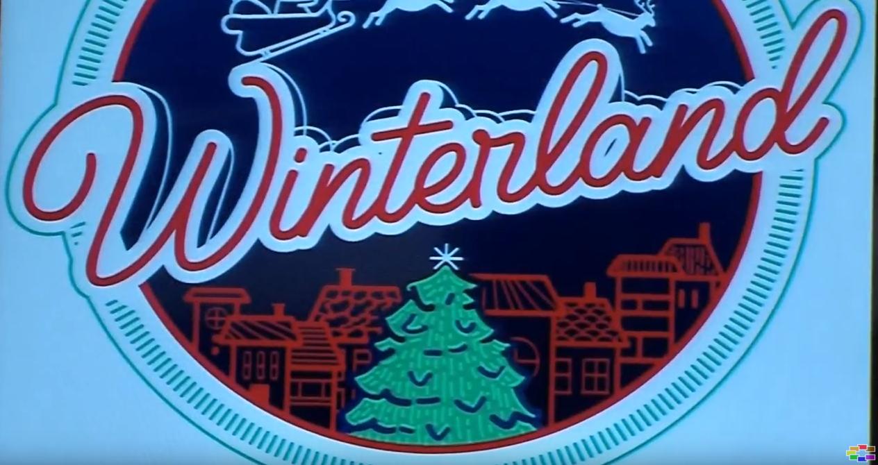"""Винтерленд, новогодишна населба на плоштадот """"Македонија"""""""