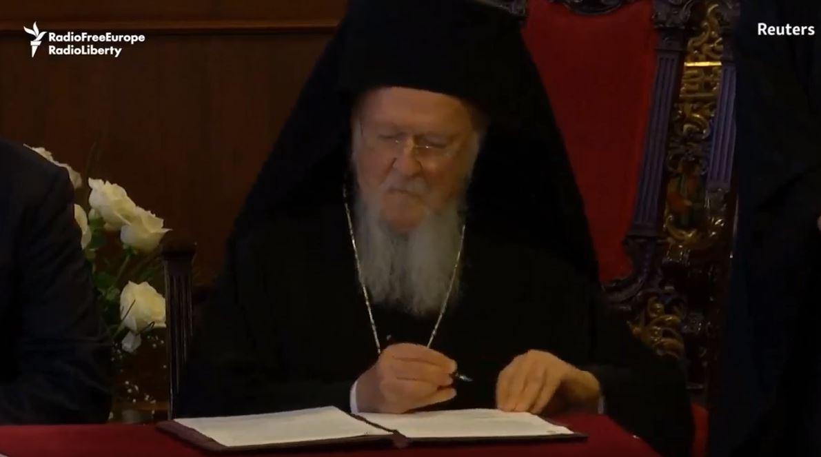 Украина добива автокефалност - вселенскиот патријарх го подготви историскиот Томос